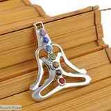 Gem Stone Different Shapes Necklace Pendants, Jewelry- Basarti.Store