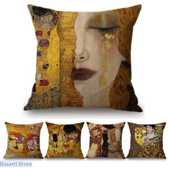 Gold Luxury Decorative Cushion Covers - 40507