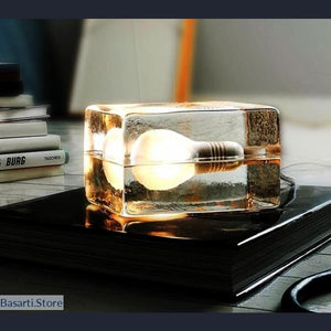 Ice Light Table Lamp - Ice Light Table Land