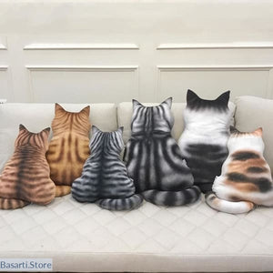 IGNORING YOU Cat Pillows 6 Colors 3 Sizes - Cat Pillows