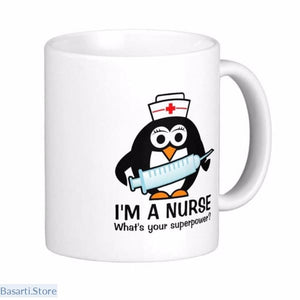 Im a Nurse. Whats Your Superpower Coffee Mug - 100003290