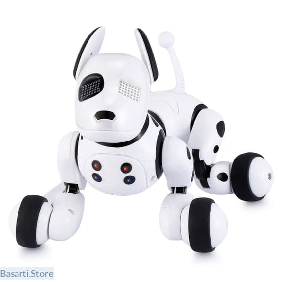 Intelligent RC Robot Dog Toy can Sing Dance and Tell Stories - WHITE - Other RC Toys
