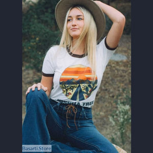 Joshua Tree California Womens T-Shirt - L - 200000791