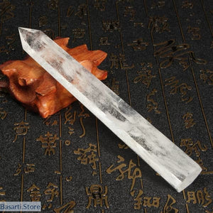Large Natural Clear Crystal Wand (approx. 7) - Crystal