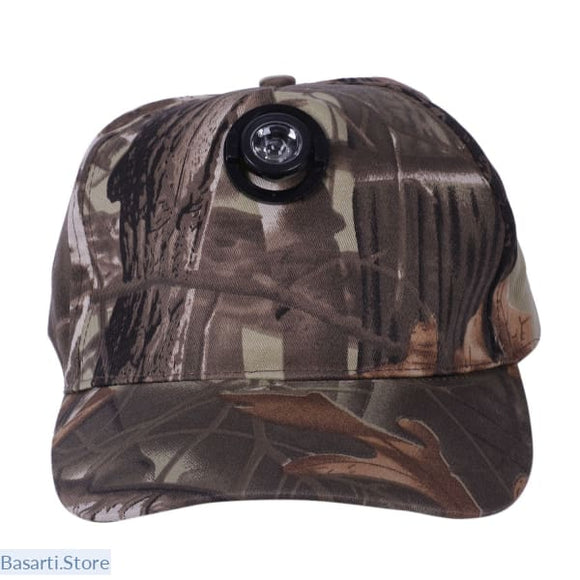 Lead Light Camouflage Fishing & Hunting Hat - Gift him