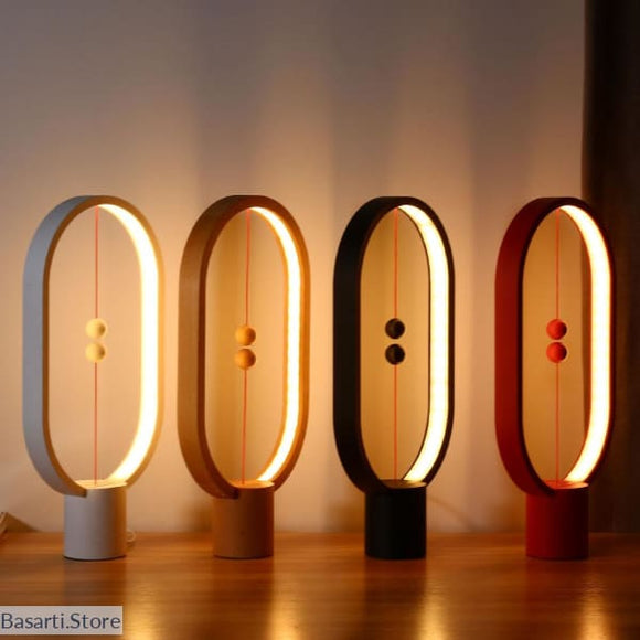 LED Light Heng Balance Indoor Table Night Light Lamp