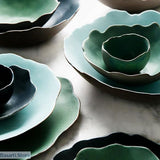 Lotus Leaves Shaped Porcelain Dinnerware - Lotus Leaves Shaped Porcelain Dinnerware