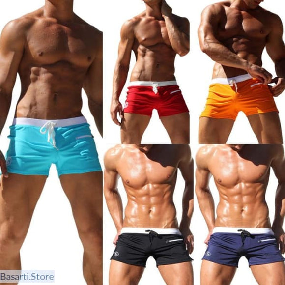Low Waist Summer Beach Shorts With Pocket - Gift Him