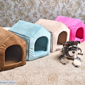 Luxurious & Cozy Indoor Dog House Bed - 200003745