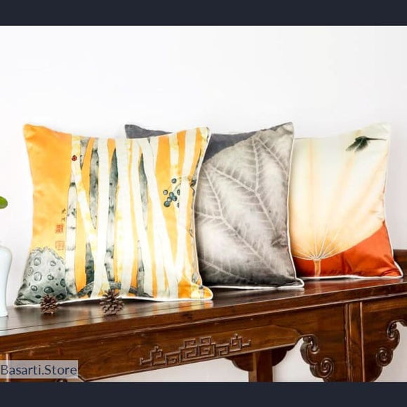 Luxury Silk Decorative Cushion Covers - Luxury Silk Decorative Cushion Covers