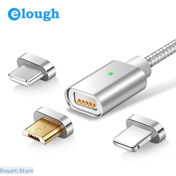 Magnetic Charger USB Cable For iPhone Type C Mobile Phone Fast Charging Cable - 440504