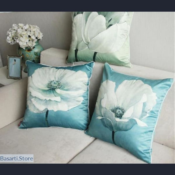 Magnolia Blooming Decorative Pillow Covers - Magnolia Blooming Decorative Pillow Covers
