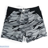 Mens Camouflage Shorts Bathing Trunks - S - 200001863