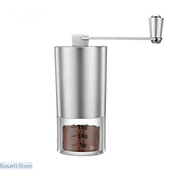 Mini Manual Coffee Grinder with Transparent Body - 100000138