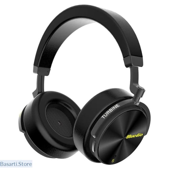 Noise Cancelling Wireless Bluetooth Headphones with microphone for cell phones - black / China - 63705