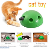 """Pop Out"" Peek-A-Boo Electric Interactive Cat Toy, 200389152- Basarti.Store"