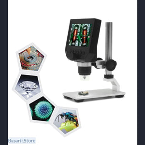 Portable LED Digital Microscope @ 600X magnification (up to 8 LEDs) - Gift Toy Gadget