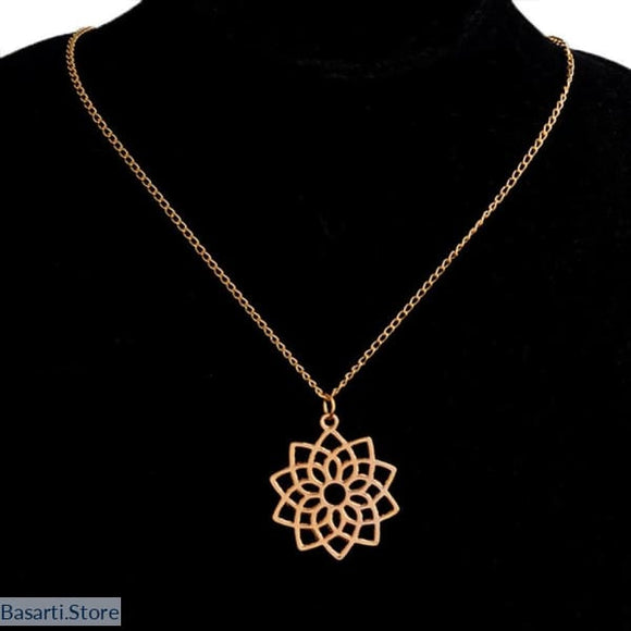 Sacred Geometry Healing Necklace - Jewelry Necklace
