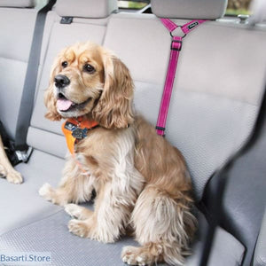 Seat Belt Headrest Restraint Harness for Dogs in 3 Colors - 200003720