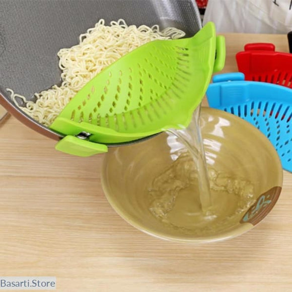 Silicone Pot Strainer and Liquid Funnel - 100003246