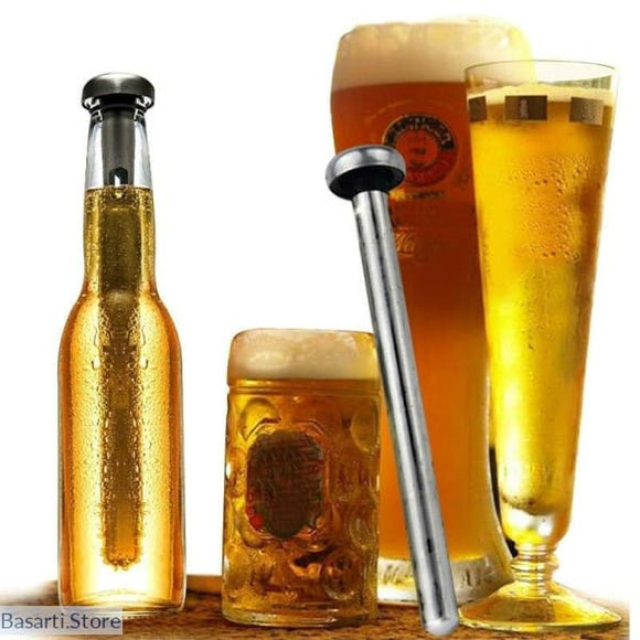 Stainless Steel Beer Chiller Sticks for Rapid Chilling - Stainless Steel Beer Chiller