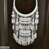 Stunning Miao Silver Chocker Necklace - 4 different styles - D - tribal necklace