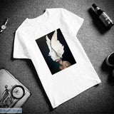 Surreal Bird-Woman T-Shirt (3 Different Image Styles) - S / 1 - Surreal Bird-Woman T-Shirt