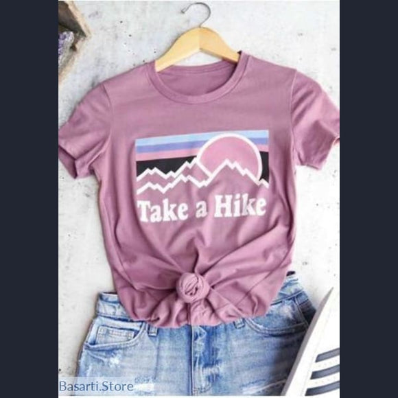 Take A Hike Womens T-Shirt - 200000791