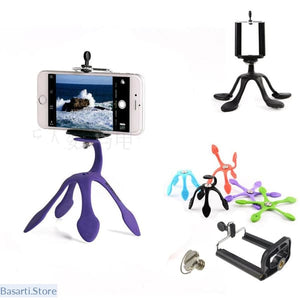 Totally Adjustable & Flexible Mount for all Mobile Smartphones