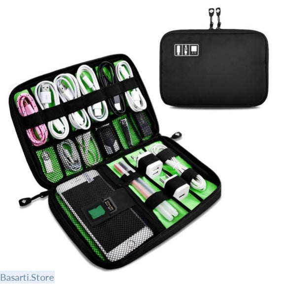 Travel Zipper Case For Electronic Accessories - 154101
