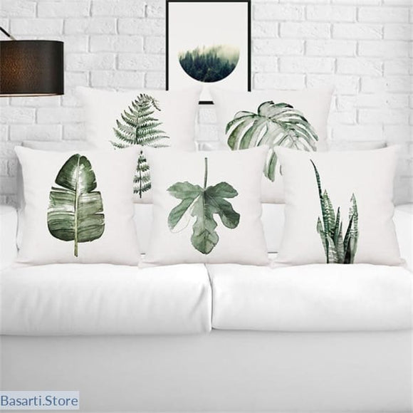 Tropical Rain Forest Plants pillow Covers - 40507