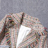 Tweed Winter Womens Jacket - Tweed Winter Womens Jacket