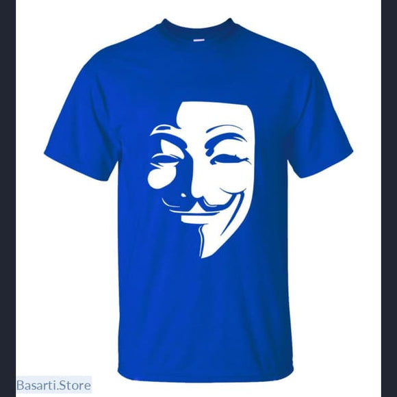 V for Vendetta Mens T-Shirt (13 colors to choose from) - 200000783