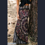 Vintage Long Maxi Slim Skinny Skirt - S - Vintage Long Maxi Slim Skinny Skirt
