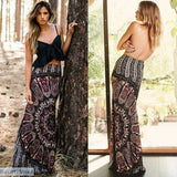 Vintage Long Maxi Slim Skinny Skirt - Vintage Long Maxi Slim Skinny Skirt