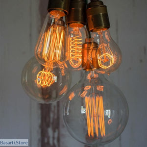 Vintage Retro Edison Incandescent Light Bulbs - Vintage Ampoule - Edison Light Bulbs