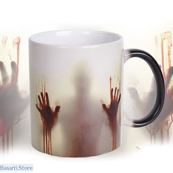 Walking Dead Color Changing Coffee Mug - 100003290