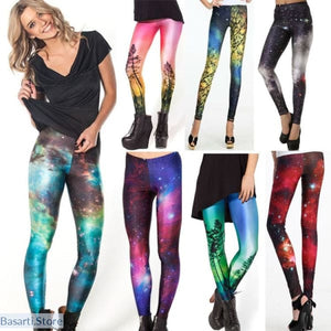 Women Colorful Universe - Galaxy Leggings - Women Leggings