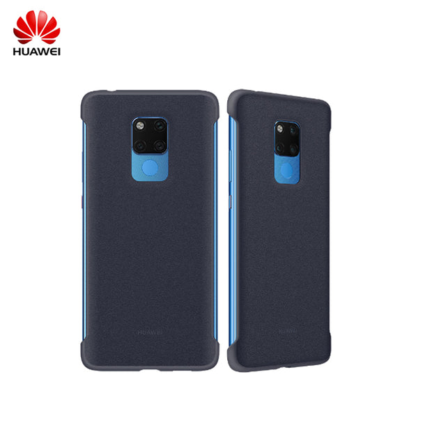 100% Original Official HUAWEI Mate 20 X Case PU Leather Protection Back Cover Mate20 X Cases