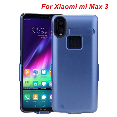 10000 Mah For Xiaomi Max 3 Battery Case Smart Phone Stand Battery Cover Smart Power Bank For Xiaomi Max 3 Charger Case