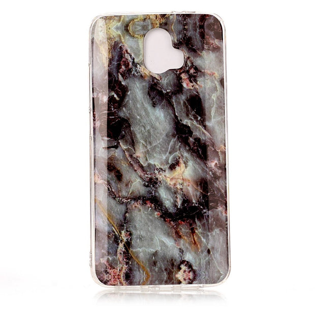 100pcs/lot New Raninbow Color Marble Grain Back Cover Case For ZTE Blade 981 AXON 7 V8 Pro