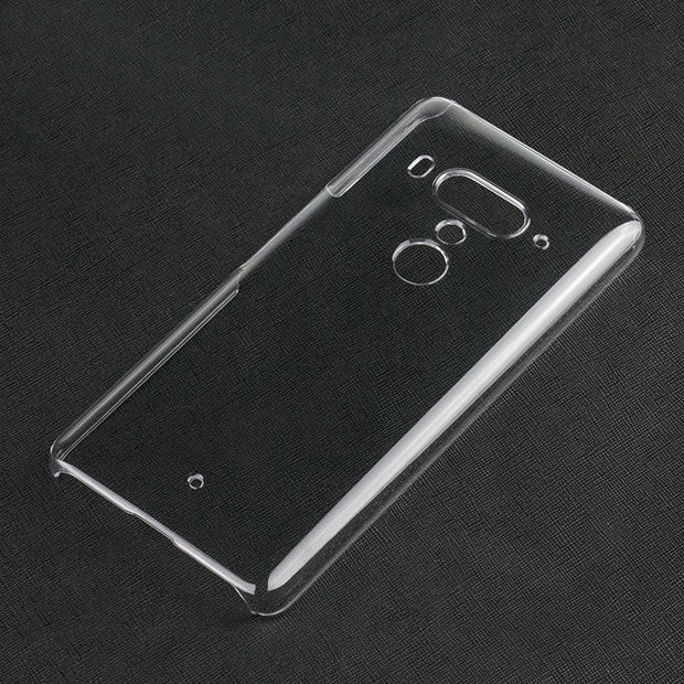 10PCS/LOT.Transparent Crystal Clear Slim Hard Protective Case For HTC U12 PLUS/U12+