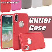 10pcs 3 In 1 Glitter Bling Shockproof Protective Case For IPhone XS 8 7 6 6S Plus Phone Case Hybrid TPU+PC Colorful Flash Cover
