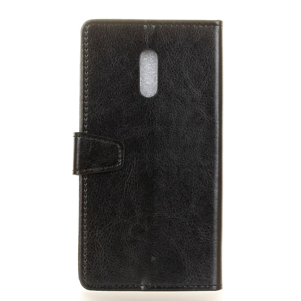 10pcs/lot Free ShippingCrystal Grain Wallet Leather Case Stand With Card Holder Case For Xiaomi Redmi Note 5A