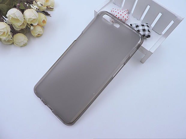200pcs/lot New Pudding Glossy +Matte Crystal TPU Case Cover For Oneplus 5 5.5''/ One Plus 3T