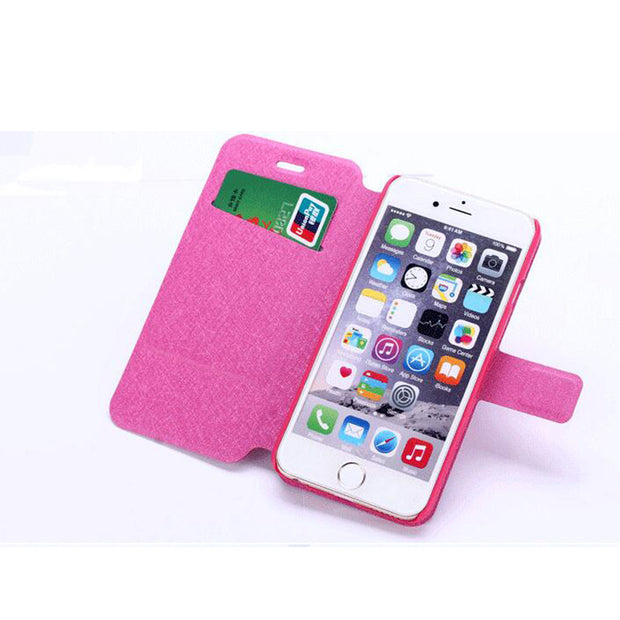 2017 For Iphone 6 6s Case Leather, 22 Colors Case Cover For Iphone 6 Phone Cases Cover BiNFUL