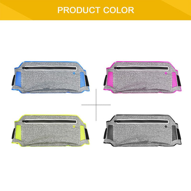 2017 Newest Ultra-thin Sports Waist Bag Phone Case For Elephone S7 P9000 R9 Oukitel K6000 K4000 Pro Wallet Pouch Case 6.0""
