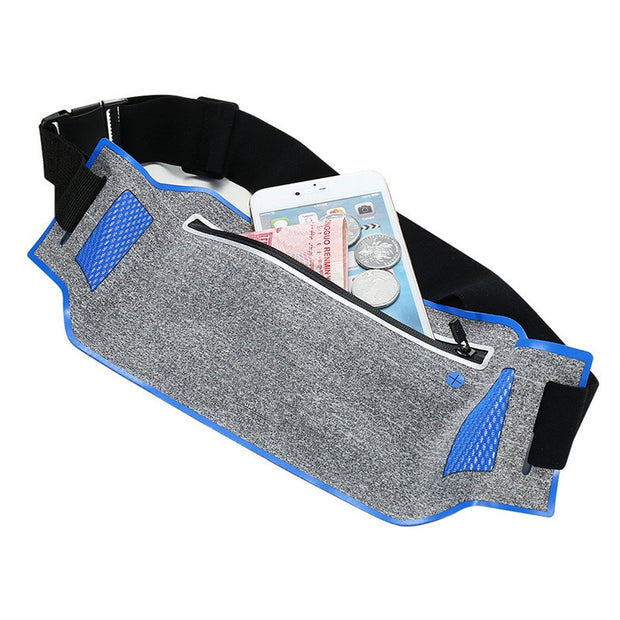 2017 Newest Ultra-thin Sports Waist Bag Phone Case For Nokia Lumia 950 640 Xl 535 650 630 550 Wallet Pouch Case 6.0""