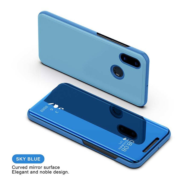 2018 Mirror Case For Xiaomi 8 8 Se Luxury Curved Surface Elegant Automatic Magnetic Protective Full Cover Case For Xiaomi 8 Se