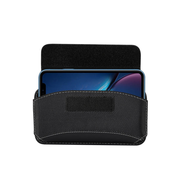 2019 Universal Phone Case Holster Bag Durable Nylon Oxford Purse Fasten Bags Pouch Belt Clip Holster Leather Cover Waist Cases